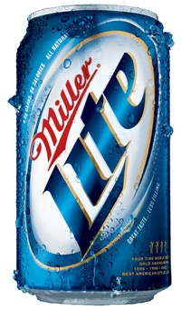 Icy Cold Miller Light :)
