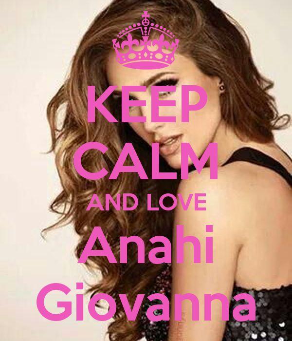 Keep calm: Anahí Giovanna (19)
