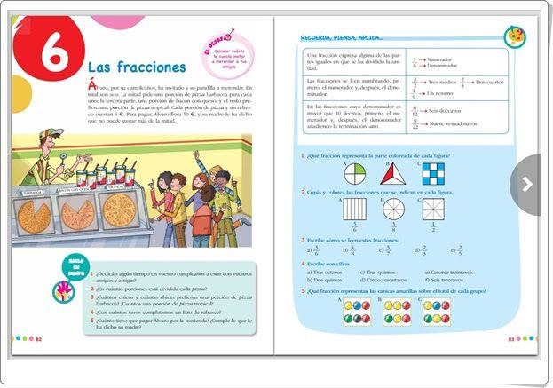 """Unidad 4 de Matemáticas de 5º de Primaria: """"Fracciones"""""""