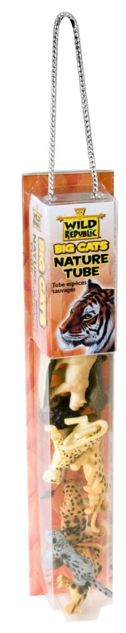 Big Cats Nature Tube with Play Mat by Wild Republic