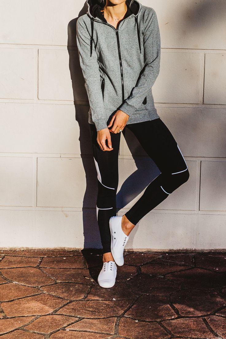 Panelled Hoodie & Colour Block Legging. #seedsport #woman