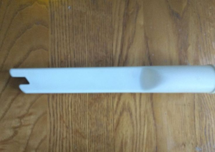 Vintage Eureka Vacuum Cleaner Replacement Part White Crevice Tool Only 10 Inch #Eureka