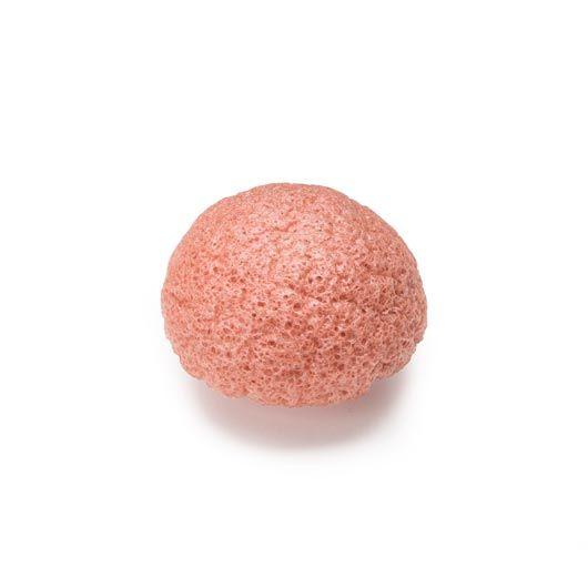 Konjac Pink Ler svamp tør