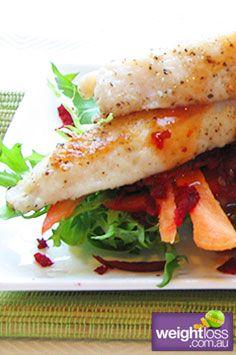 Salt & Pepper Flathead Tails. #HealthyRecipes #DietRecipes #WeightLossRecipes weightloss.com.au