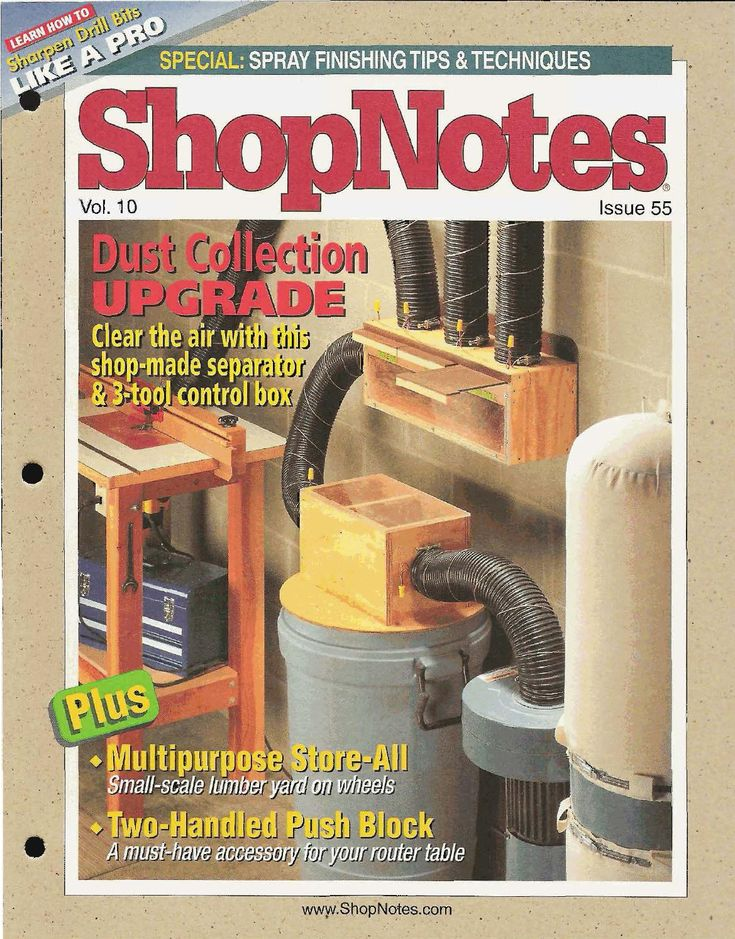 Shopnotes issue 55 by Adrian Kuney