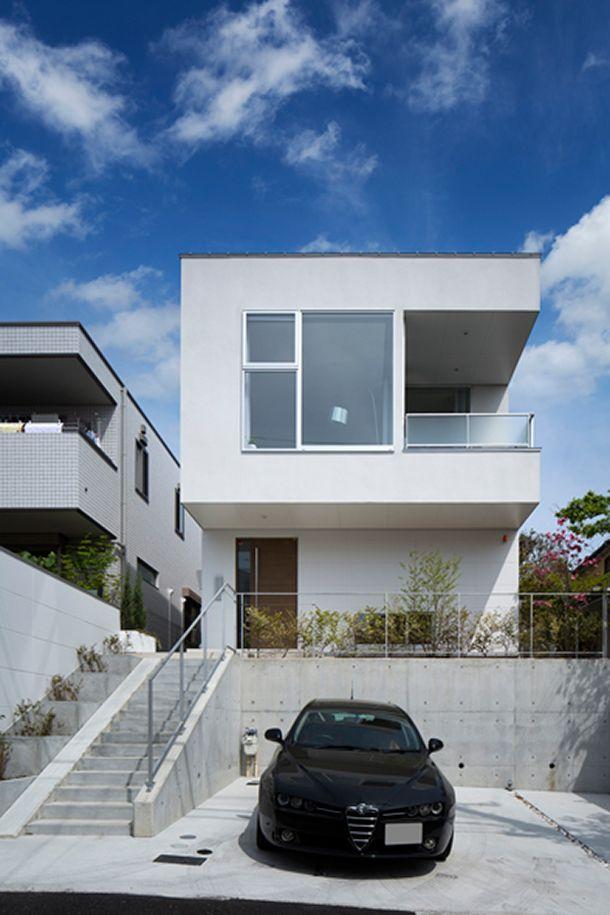 高台の家・間取り(兵庫県宝塚市)   注文住宅なら建築設計事務所 フリーダムアーキテクツデザイン