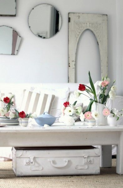 beach+cottage+decor+image | Beach Cottage Year in Review ~ Coastal Style, White Paint & Beach ...