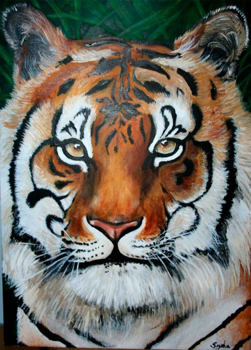 Tiger Painting done in 2010