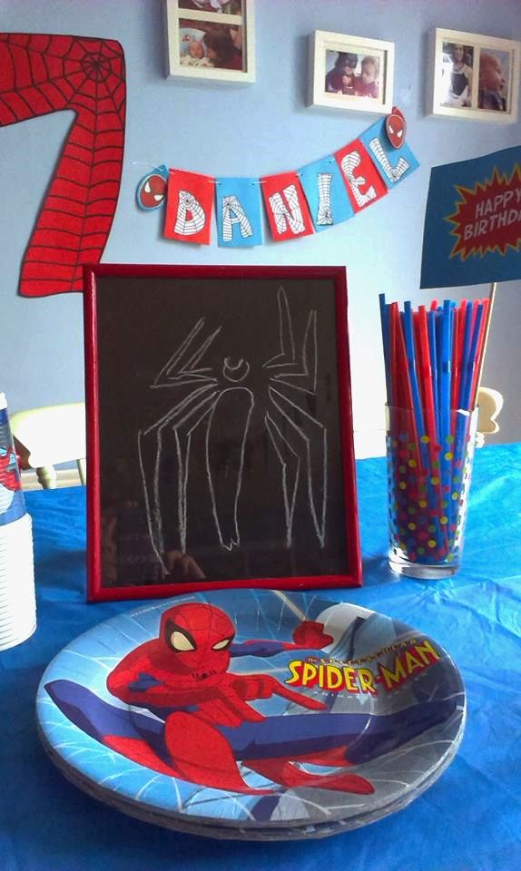 Spiderman Party on a budget