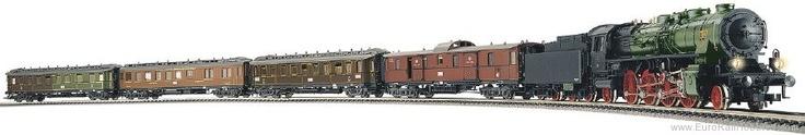 Fleischmann 781204   KPEV Train Set 'Gloria Preus' - 125 Years of Fleischmann Edition