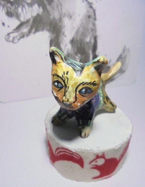 Skulpturen - Kitty love you! - ein Designerstück von feicht bei DaWanda