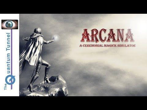 Arcana A Ceremonial Magick Simulator https://youtube.com/watch?v=PHLWwoWnyYE