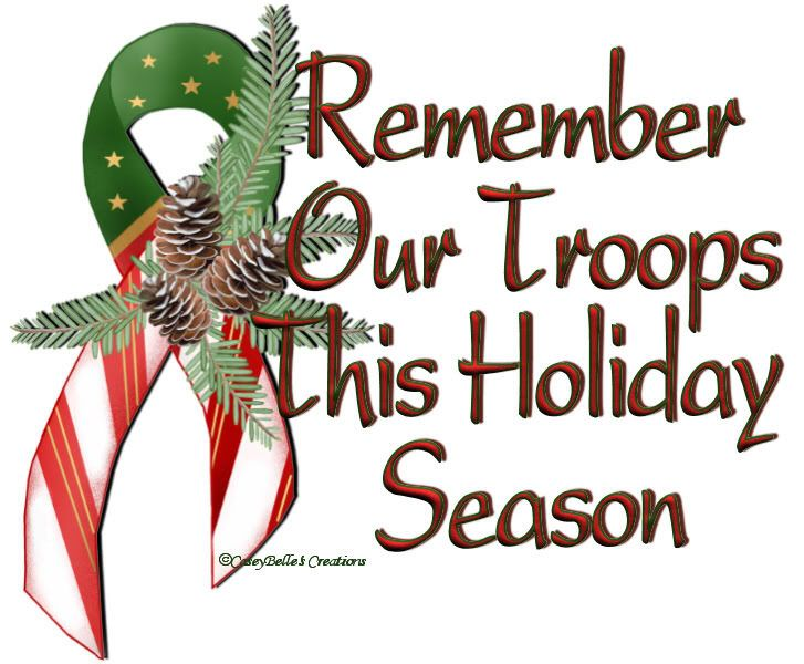 Remember our Troops and their Families This Holiday Season ...