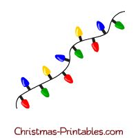 printable christmas lights clip art this is a cute clipart of colorful christmas lights - Christmas Tree Light Clips