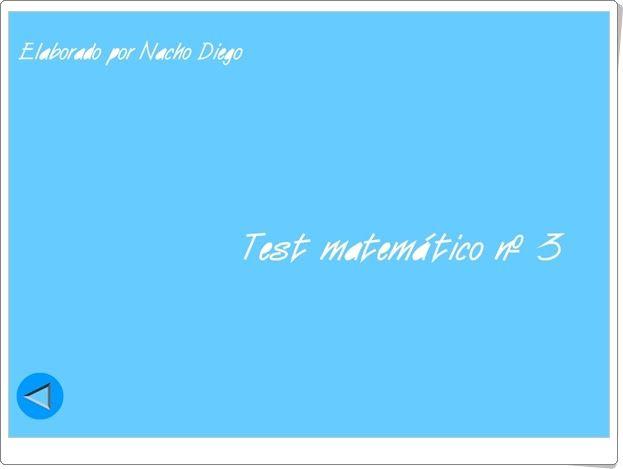 """Usa el coco: """"Test matemático Nº 3"""" (Ángulos)"""