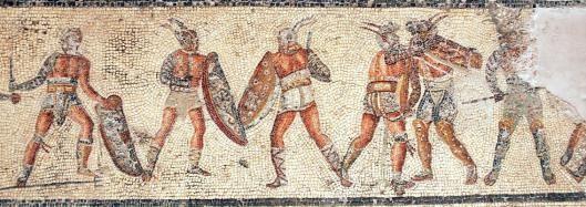 Οι μονομάχοι στην αρχαία Ρώμη ήσαν η απόλυτη πολεμική μηχανή στις μάχες σώμα με σώμα…………..ζούσαν, έτρωγαν, ανέπνεαν και κοιμόντουσαν μόνο για την μάχη. Γεμάτοι μυστήριο και αγριότητα, οι μονομάχοι αποτελούσαν την ύψιστη ψυχαγωγία για την αιμοδιψή Ρωμαϊκή κοινωνία.