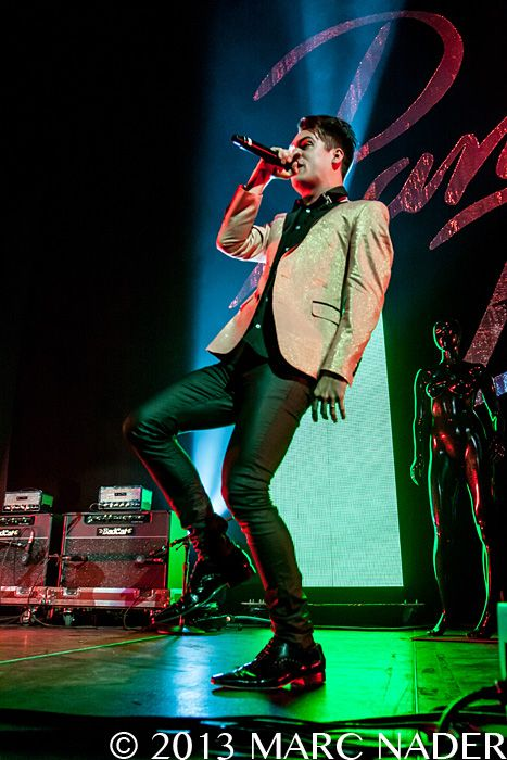 panic+at+the+disco+2013 | The Palace of Auburn Hills Panic at The Disco performing on the 2013 ...