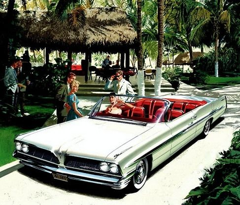 https://flic.kr/p/r5DLeV   1961 Pontiac Bonneville   Brochure cover original artwork