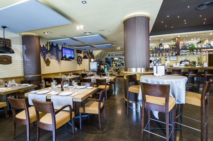 El restaurante El Patrón.