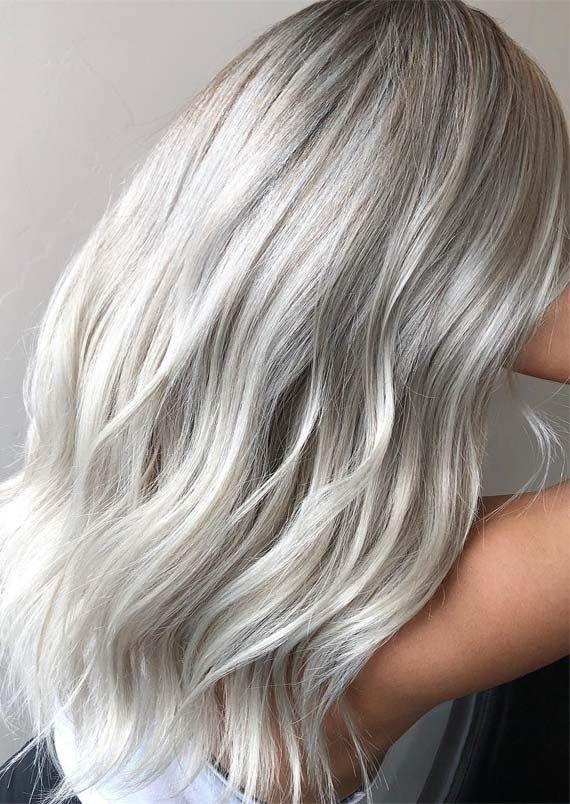 Beautiful Ice Blonde Hair Color Ideas Amp Trends For 2019