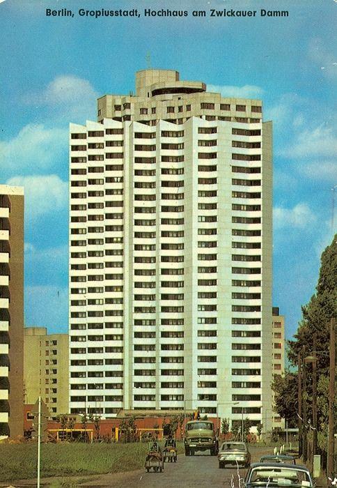 Wohnhochhaus Zwickauer Damm 12, Berlin-Gropiusstadt, Manfred Joachim Hinrichs, 1969