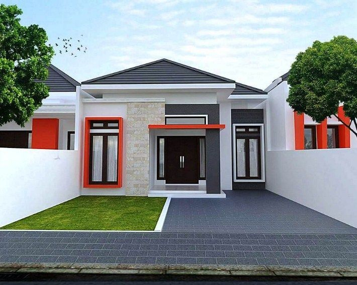 Gabungan Gambar Model Rumah Minimalis Tampak Depan Versi Tukang Bangunan Rumah Minimalis Desain Rumah Minimalis Desain Rumah Eksterior