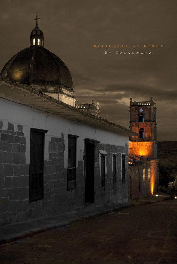 Barichara matizada por el embrujo de la noche Barichara At Night by bycasannova on 500px