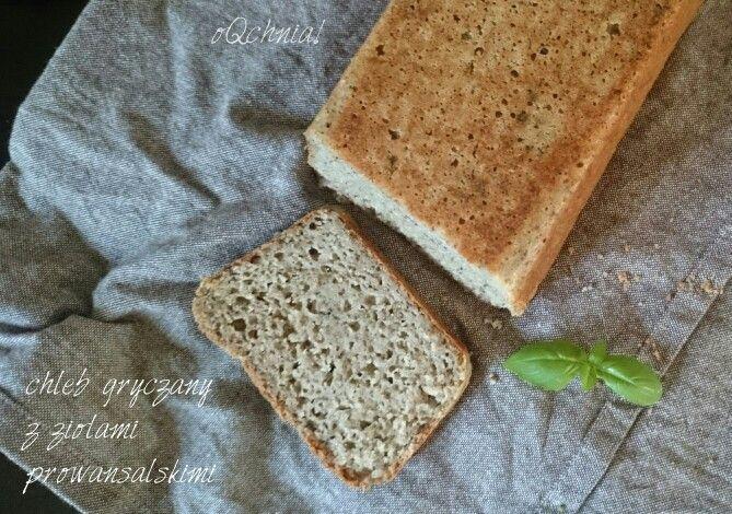 Chleb gryczany z ziołami prowansalskimi