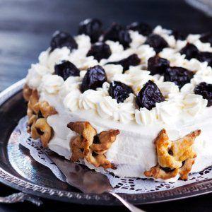 Luumutäytekakku - Kotiliesi.fi - Plum layer cake