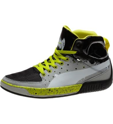 Men's Puma Global Rallycross GRC Street Mid Grafic Shoes | Collections - from the official Puma® Online Store