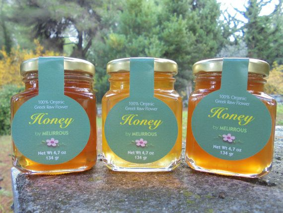 Greek Honey Raw Flower and Forest Honey by MelirrousBees on Etsy