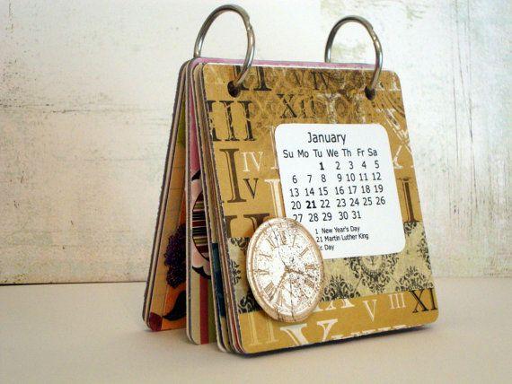 Handmade Calendar Designs : Images about funky calendars on pinterest desk