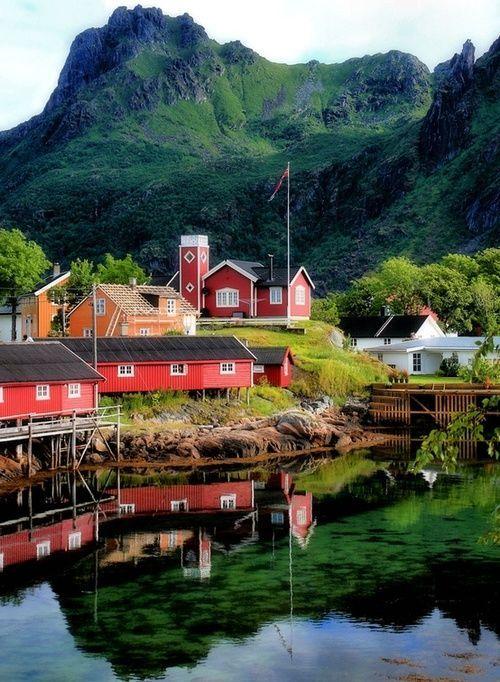 Svolvaer, Norway.