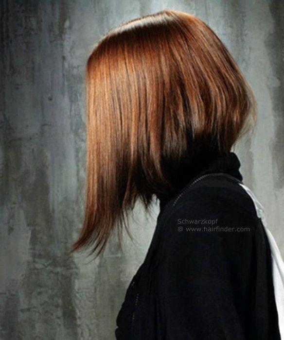 Long angled bob | I love bob haircuts!!! | Pinterest