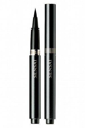 The best liquid/brush eyeliner I ever had yet. Ultimately black. Sensai by Kanebo