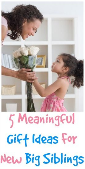 5 Meaningful Gift Ideas for a New Big Brother or Big Sister! Make this a special time for everyone! @Paula (Beauty Through Imperfection)