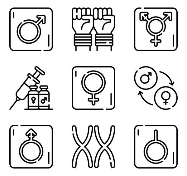 Gender Identity Icon Pack Icon Pack Gender Identity Identity