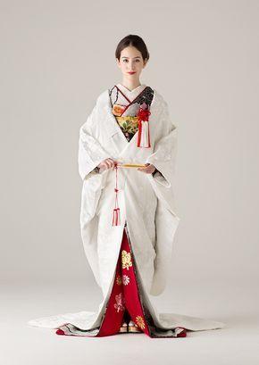 着物 | Kimono | 世界中の旬でリアルなトレンドを発信するウェディングドレスのセレクトショップ。海外セレブご用達のデザイナーの日本初上陸ブランドやバリュエーション豊富なオリジナルカラードレスも人気。ウェディングドレスのレンタルはオーセンティック銀座で。