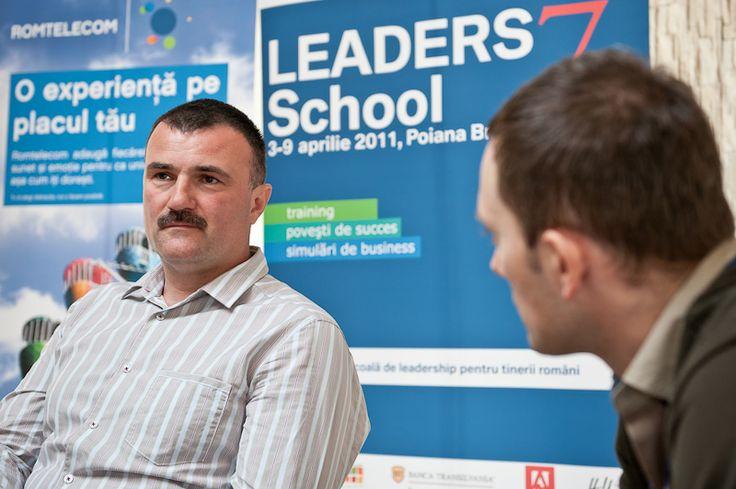 Dan Stefanescu, Iacarii Acrobati la LEADERS School, editia a 7-a, aprilie 2011, Poiana Brasov. #leadersschool