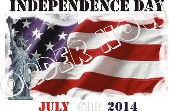 #Independence #Day #July #4th 2014 DIY printable pdf by Aluminumguy.