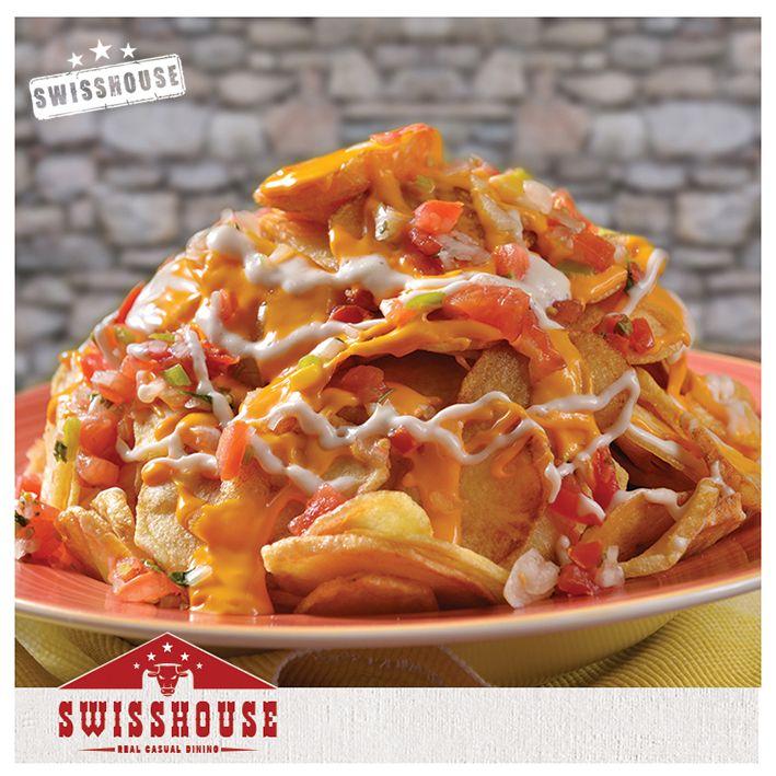 New Fully Loaded Potato Twister Swisshouse Newmenu هضبة البطاطا تويستر قائمة سويس هاوس الجديدة Casual Dining New Menu Dining