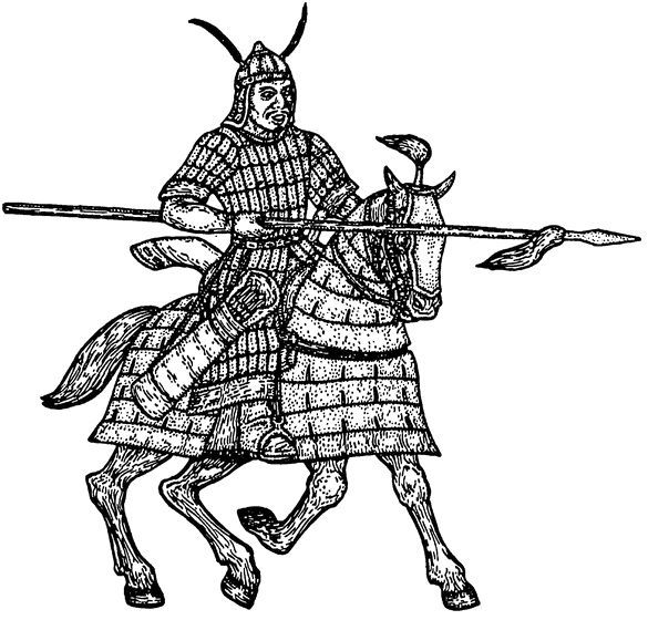 Kök Turk (Tujue) Lancer