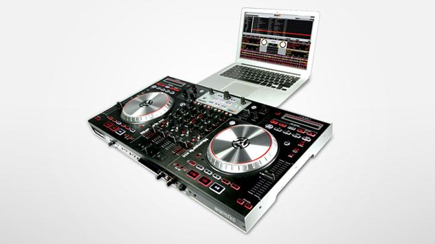 deejay mixers | Digital DJ Controller with 4-Channel Mixer, Numark NS6, Available ...