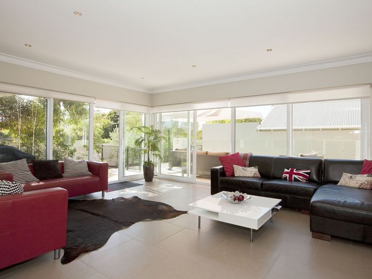 Another example of one of Core Developments' stylish living rooms. Light, bright and quirky.