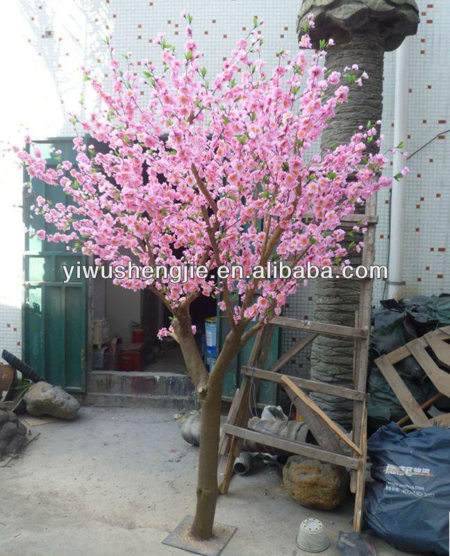 Caliente venta artificiales cherry blossom los rboles for Arbol artificial decoracion