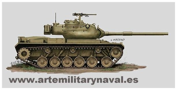 M-47 español. No lleva distintivos para facilitar la personalización