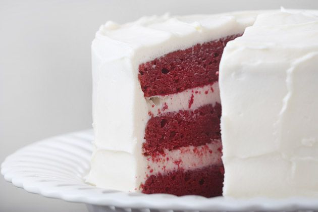 red velvet cake minus the insane amounts of red food coloring