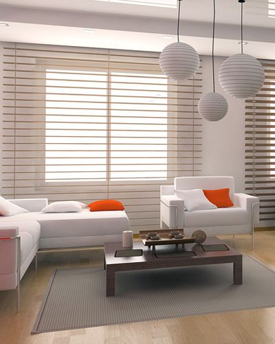 Faux wood blinds are a great substitution for real wood blinds, like basswood blinds,  in areas that have a lot of traffic, or if there's very high humidity. They are very durable, so they are a good solution if you own a home that you rent out, or are maybe running a small hotel as they won't fall apart with more than average use. Faux wood blinds are actually quite a bit heavier than wooden window blinds, but they cost a lot less and the strength of the materials makes them a great choice.
