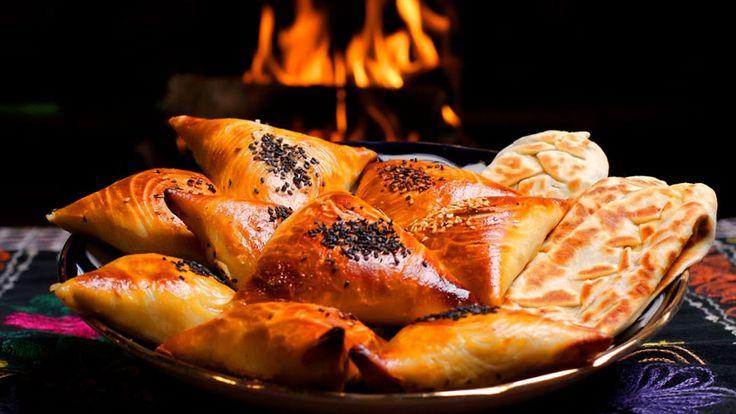 ОАЭ. Дубай. Питание и арабская  кухня. Уличная еда, мясо и спиртное.