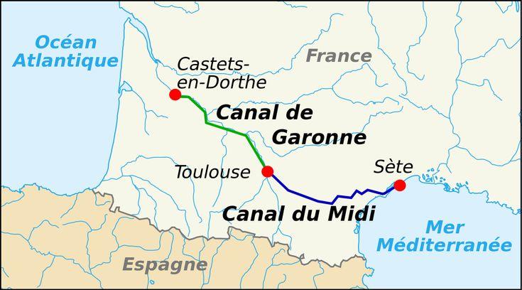 Canal du Midi - Wikipedia, the free encyclopedia